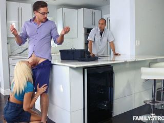 Tiffany Watson Let Him Fix The Sink While I Blow You!