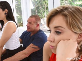 Malina Mars Who's Best At Celebrating The Father's Day